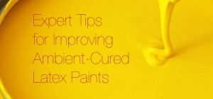 Improving Performance in Ambient Cured Latex Paints